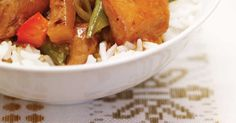 Made - yum Pineapple Rice, Pineapple Chicken, Ricardo Recipe, Sauce For Chicken, Salty Snacks, Sugar Snap Peas, Crockpot Dishes, Freezer Meals, Slow Cooker Recipes