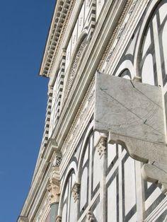 La meridiana di Santa Maria Novella, Firenze.