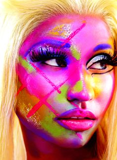 Nicki Minaj. Love her drive, business sense, and self confidence.