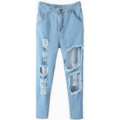 Buy Jeans For Women in the Latest Styles Online Buy Jeans, Jeans Pants, Cut Out Jeans, Ankara Jumpsuit, Black Pleated Skirt, Weekly Outfits, Blue Trousers, Stylish Clothes For Women, Only Fashion