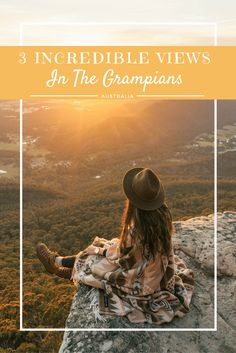 - 3 INCREDIBLE VIEWS IN THE GRAMPIANS - Grampians National Park in Australia is the perfect spot for a short getaway. Head to these 3 lookouts for the best views in the park! www.reneeroaming.com