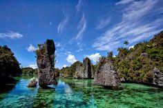 Keindahan dan Pesona Kepingan Surga Kecil di Pulau Misool Raja Ampat Papua