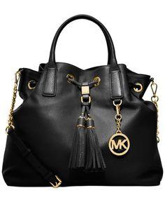 Michael Kors Beige Brown MK Logo Jacquard Leather Tote Purse Cheap Michael  Kors 6ce8575639e56