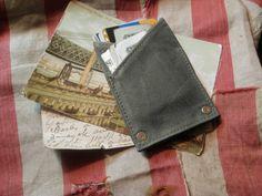 canvas rivet wallet
