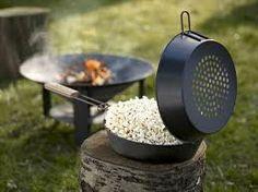 popcorn op kampvuur - Google zoeken