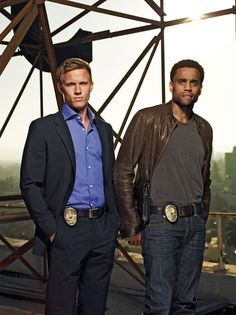 Common Law's Michael Ealy and Warren Kole. So hot.