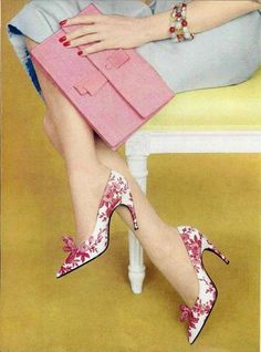 Shoes by Roger Vivier, 1959.