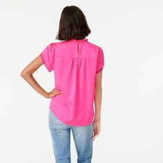 Autumn Summer, Fall, Winter, Hot Pink Tops, Tulip Sleeve, Cashmere Sweaters, Mens Suits, Tulips, J Crew