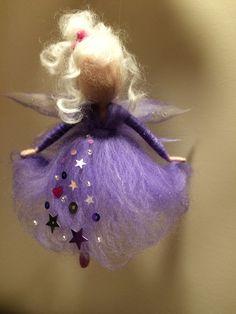Needle felted fairy Waldorf inspired Wool Angel in от DreamsLab3