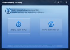 How to create a factory recovery partition in Windows XP, Vista, 7, 8 and 8.1