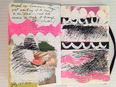 leslie hart studio: art journals...