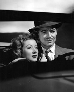 Greer Garson and Clark Gable in Adventure (1945).