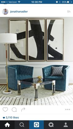 A Technically Perfect Living Room Design, and the Modern Master Jonathan Adler Jonathan Adler, Living Room Chairs, Living Room Decor, Dining Chairs, Lounge Chairs, Table Lamps, Arm Chairs, Club Chairs, Accent Chairs