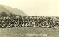 6 RWF B Coy Summer Camp Conway 1914. World War One, Wales, Fathers, Vineyard, Dolores Park, Camping, Summer, Travel, Outdoor