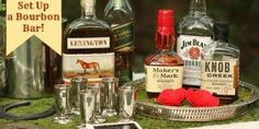 Fun Ideas For Setting Up A Bourbon Tasting/Kentucky Derby Party