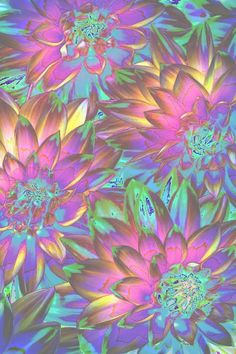 trippy roses by dixieee normus flowers psychedelic art ...