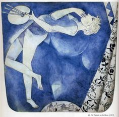 The painter to the moon - Marc Chagall