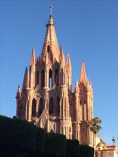 Parroquia de San Miguel Arcángel, San Miguel de Allende, Gto.