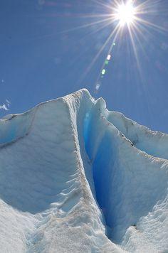 Grieta en el Glaciar Perito Moreno