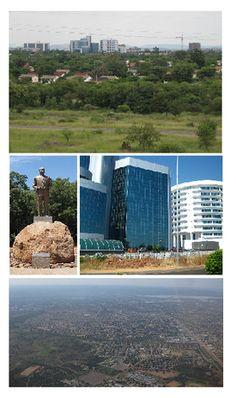 Gaborone, es la capital de Botswana