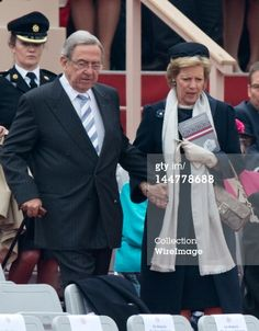 Queen Anne-Marie and King Constantine, May 18, 2012                                                                                                                                                                                 More