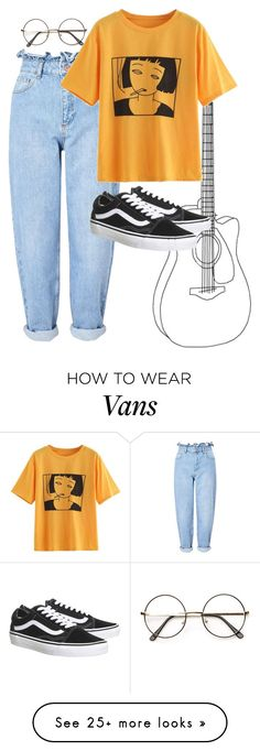 """Без названия #121"" by tulipgoldsilk on Polyvore featuring Miss Selfridge and Vans"