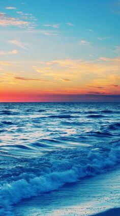 Ocean wallpaper iphone beach beautiful 61 Ideas for 2019 Iphone Wallpaper Ocean, Summer Wallpaper, Beach Wallpaper, Beautiful Nature Wallpaper, Beautiful Landscapes, Beautiful Sunset, Sunset Photography, Landscape Photography, Whats Wallpaper