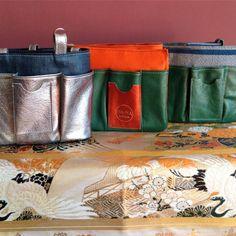 Ha-na By Atsuta Manufacture de Sacs Kimono, Organiser, Fashion, Leather, Bag, Moda, Fashion Styles, Kimonos, Fashion Illustrations