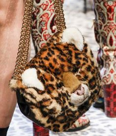 64d4f70a38bf Dolce&Gabbana Handbags & Purses Fall/Winter 2017-2018: leopard plush