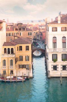 Venice Photograph on Canvas