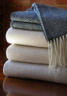 EcoChic - Herringbone Throw Rugs