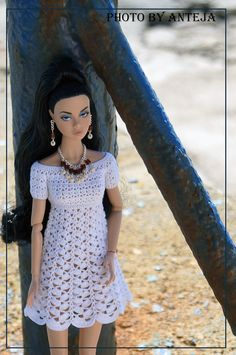 The Happening Poppy Parker | Flickr - Photo Sharing! Ropa Para Barbie crochet niñas