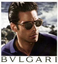 Jon Kortajarena Fronts BVLGARI Spring/Summer 2014 Eyewear Campaign