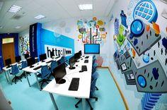 Ilustración centro de formación