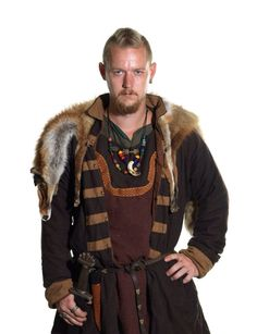 Danish men in authentic Viking costumes, by Jim Lyngvild  hubby wants a viking costume