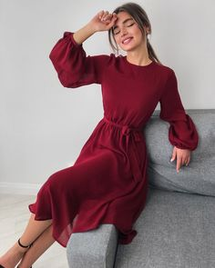 30 Beautiful and Modest Dresses for Elegant Ladies — Classy Outfit Ideas Modest Dresses, Simple Dresses, Elegant Dresses, Pretty Dresses, Casual Dresses, Church Dresses, Formal Dresses, Bride Dresses, Long Dresses