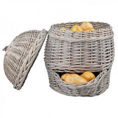 Tapas, Rattan, Wicker, Potato Storage, Seagrass Storage Baskets, Fallen Fruits, Hedgehog House, Boot Rack, Esschert Design