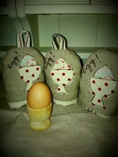 PicpacNaddywaks homemade egg cosies