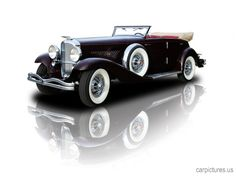1934 1 of 3 Deusemberg JN Rollston SWB Convertible Sedan
