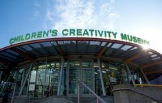 Children's Creativity Museum - San Francisco, CA #kids #travel