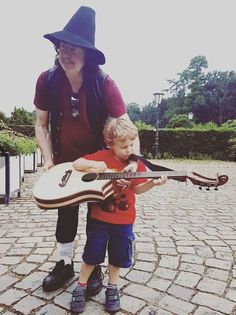Ritchie Blackmore & son Rory