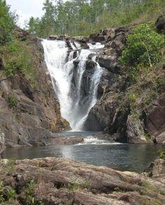Black Rock Falls, Belize, Central America