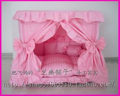 Gorgeous Handmade Princess Pet Dog Cat Bed House 1 Candy Pillow in Pet Supplies, Dog Supplies, Beds Included: 1 x Strawberry Pet Nest. Best bedroom or resting place for your pet dog or cat.Hand made fancy dog bedsOur online dog store has discount pri Dog House Bed, House Beds, Candy Pillows, Diy Dog Bed, Dog Furniture, Furniture Market, Cheap Furniture, Luxury Furniture, Furniture Ideas