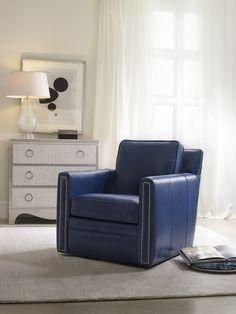#Bradington_Young Furniture swivel chair