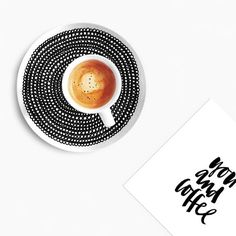 Always a good time for coffee. // // photo by by marimekkodesignhouse Marimekko, Coffee Break, North America, Instagram Posts, Design, Plate, Dishes, Plates