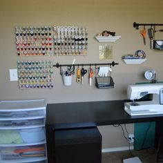 Fantastic sewing space!