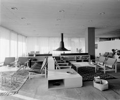 Delfoi Amalia Hotel by N Valsamakis Architecture Plan, Interior Architecture, Mid-century Interior, Interior Design, Vintage Interiors, Dom, Urban Design, Midcentury Modern, Furniture Design