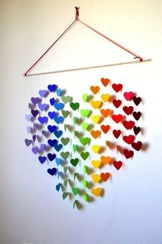 15 DIY Wall Decoration Ideas for Your Home. It's Time For You To Change Something, 15 DIY Wall Ornament Concepts for Your Dwelling. It's Time For You To Change One thing 15 DIY Wall Ornament Concepts for Your Dwelling. It's Time . Art Mural 3d, 3d Wall Art, Art 3d, Wall Murals, Diy Paper, Paper Crafting, Art Mural Papillon, Diy Wanddekorationen, Mur Diy