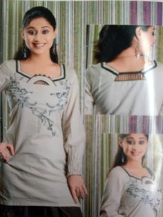 Salwar Kameez neck design