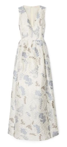Tory Burch Dotted Cloque Gown